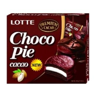 LOTTE樂天黑巧克力派12入