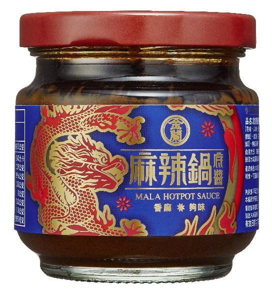 金蘭 麻辣鍋底醬 175ML