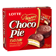 LOTTE樂天巧克力派(12入)