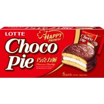 LOTTE樂天巧克力派 6入
