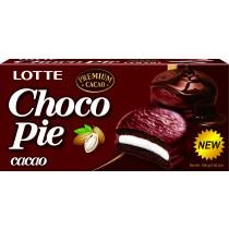 LOTTE樂天黑巧克力派 6入