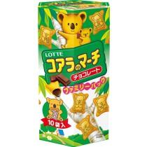 LOTTE樂天小熊餅 195G (有三種口味)